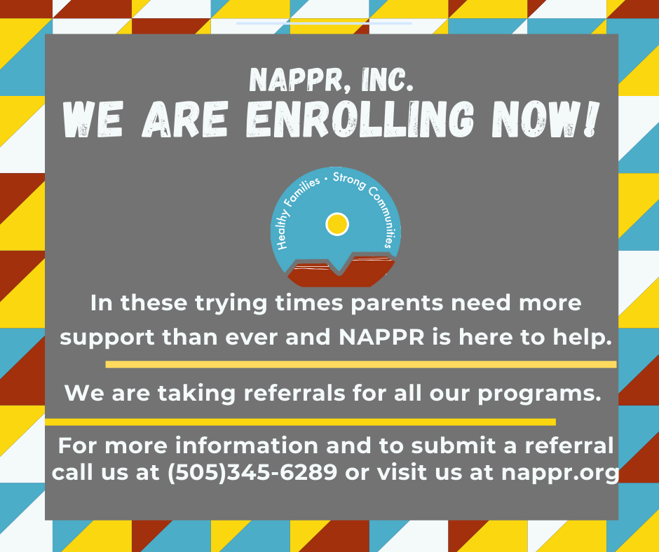 NAPPR, Inc. Early Intervention Enrolling Now! (2)